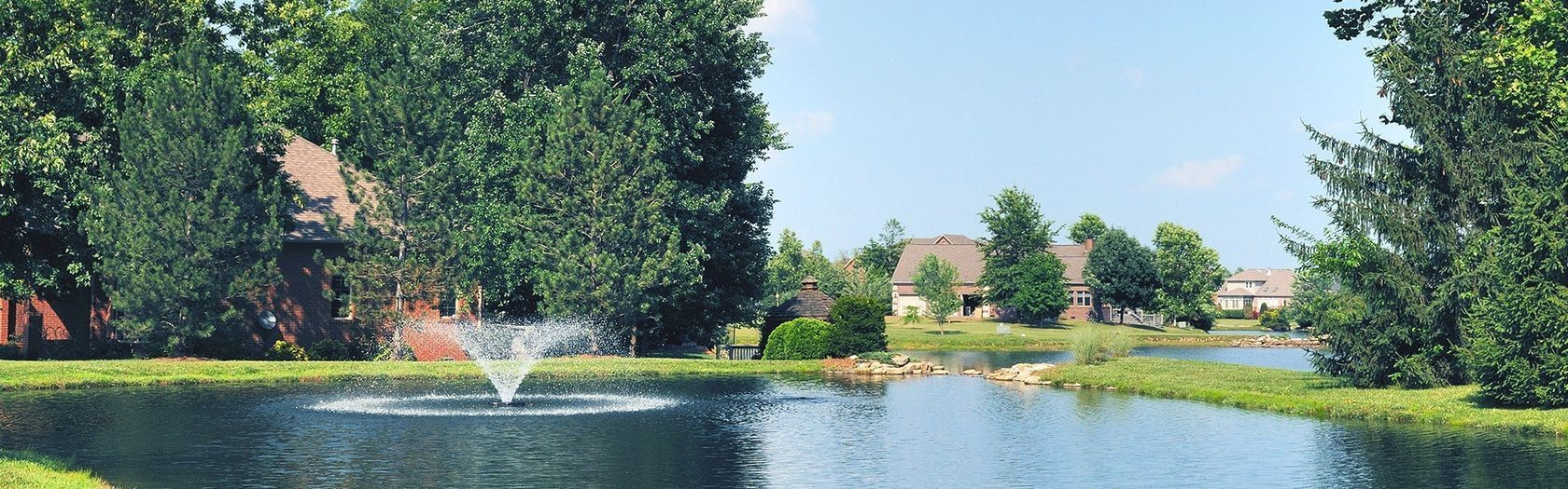 lake fountains and pond aeration and pond maintenance
